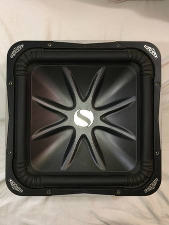 Photo Kicker Solo-Baric L7 S15L7 15 in Car Subwoofer Used Tested Excellent C - $250 (Enid)