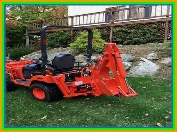 Photo Kubota BX25D Tractor Loader Backhoe Mower - - $1,027 (northwest OK gt)