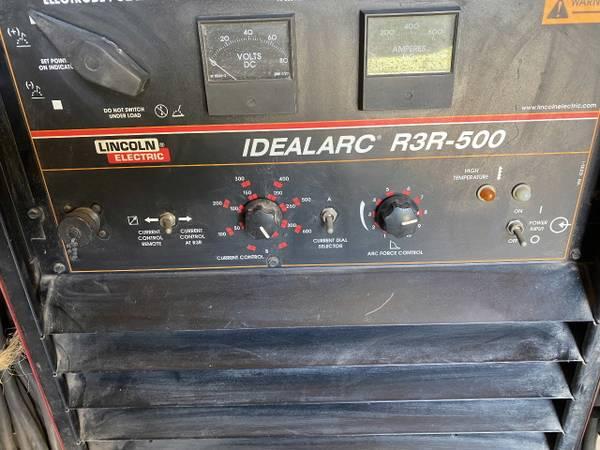 Photo Lincoln Welder Idealarc R3R-500 - $1,225 (Moore)