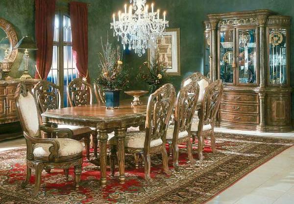 New Aico Michael Amini Dining Room, Aico Dining Room Table