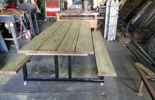 Photo Picnic Table - $500 (Garber)