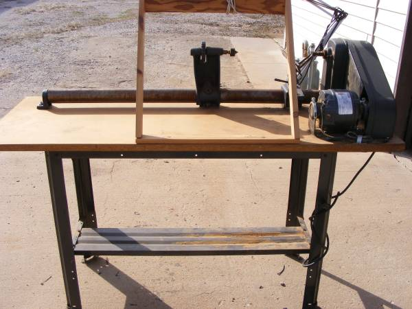 Photo Sears Craftsman 12quot Wood Lathe wtools - $400 (Enid)