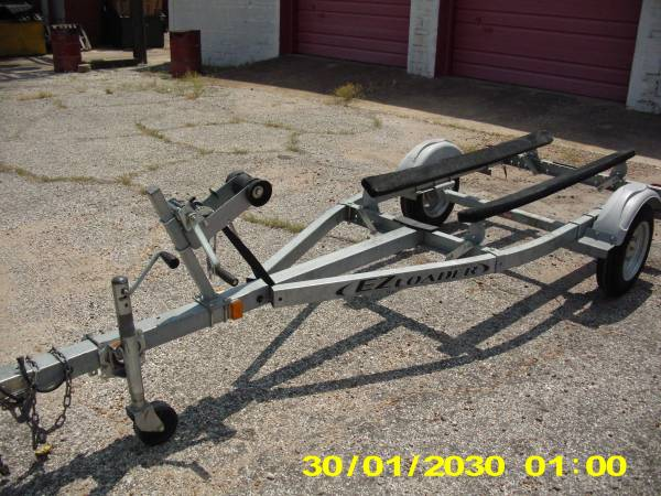 Photo Single Jet Ski PWC Trailer Galvanized 1050 - $1,050 (Lake Texoma Texas)