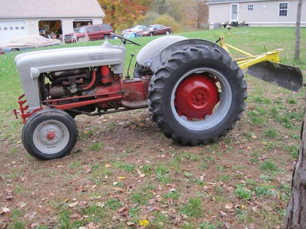 Photo 1954 ford naa with backblade - $2,500 (grove city pa.)
