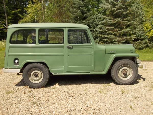 Photo 1961 Willys station wagon 2 door - $8,500 (Erie)