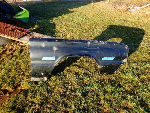 Photo 1966-1967 dodge coronet charger pass side fender - $350 (edinboro)
