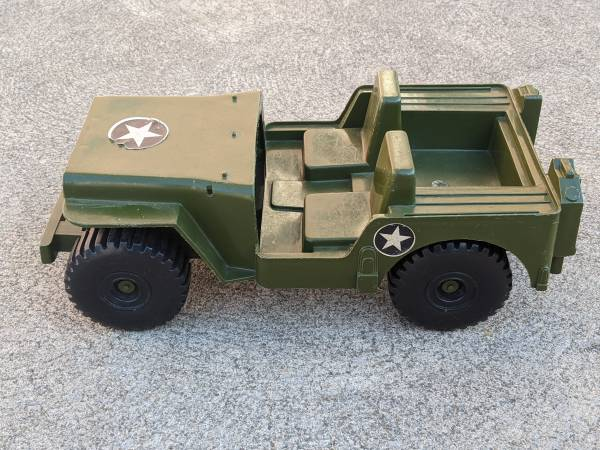 1973 Army Jeep 12quot GI Joe Scale - $10 (Waterford)