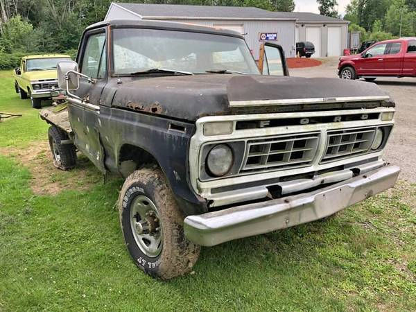 Photo 1976 Ford F250 4x4 - $1250 (Waterford, PA)