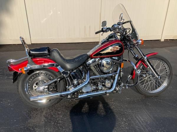 Photo 1998 Harley Davidson Softail Custom - $6,900 (Youngstown)