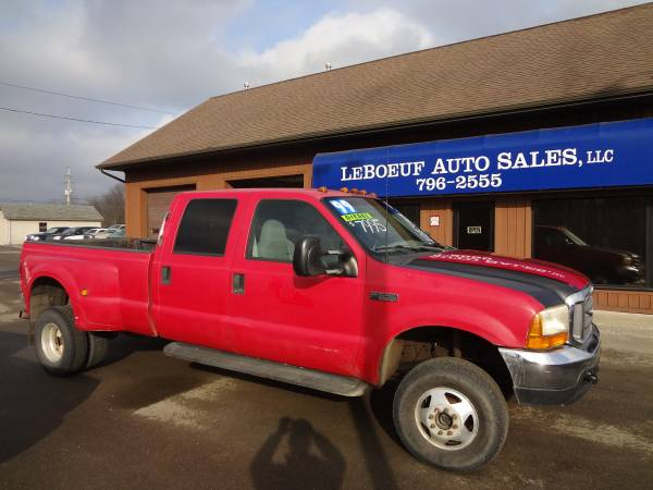 Photo 1999 FORD F350 DUALLY 7.3 DIESEL - $7995 (Waterford)