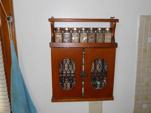 Photo 21-Jar Spice Rack - $20 (Erie)