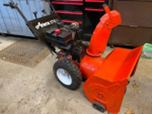 Photo Ariens 824 snow blower with Electric Start - $400