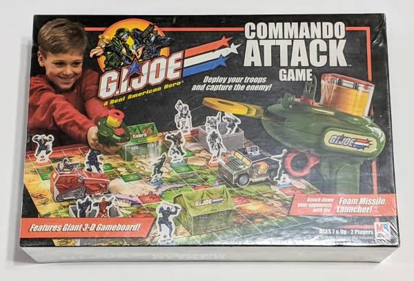 GI Joe Commando Attack Game 2002 Sealed - $20 (Waterford)