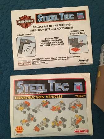 Photo Harley Davidson Steel Tec Construction System - $75 (Erie, PA)
