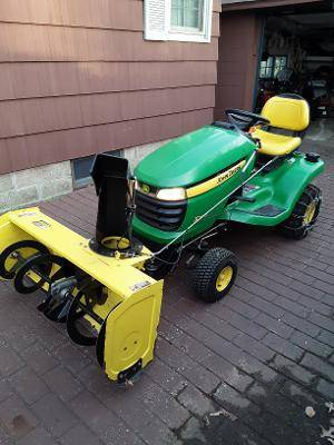 Photo John Deere X300 Garden Tractor - $3,500 (Erie)