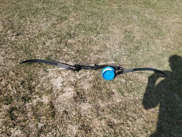 Photo Martin recurve bow with fishing setup - $100 (Erie)