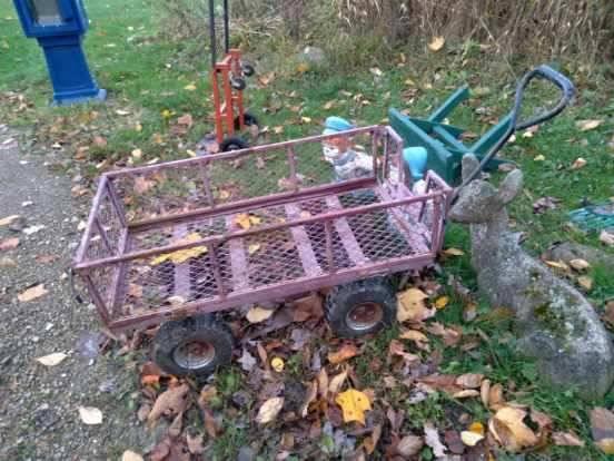 Photo Red Wagon - $45 (McKean Pa)
