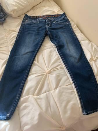 Photo Rock revival jeans - $50 (Edinboro)
