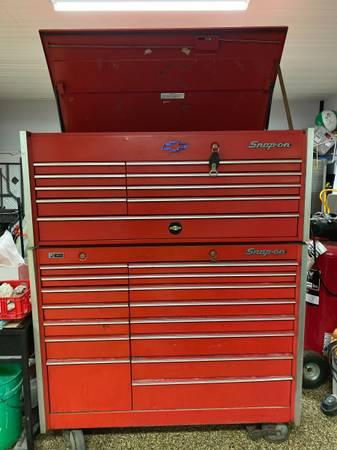 Photo SNAP ON-Professional Mechanics Tool chest and cart 2 pcs - $3,600 (harborcreek)
