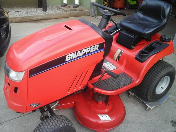 Photo Snapper mower - $650 (Corry)