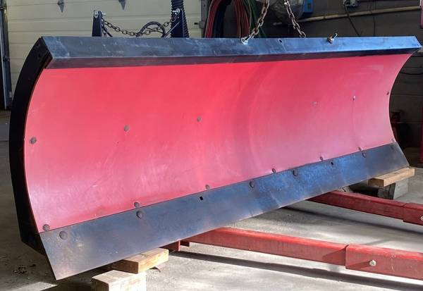 Photo Snow plow - Boss 7.5ft Poly with accessories - $1,599 (erie)