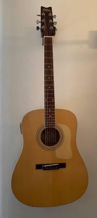 Photo Washburn Acoustic Guitar - $50 (Erie)