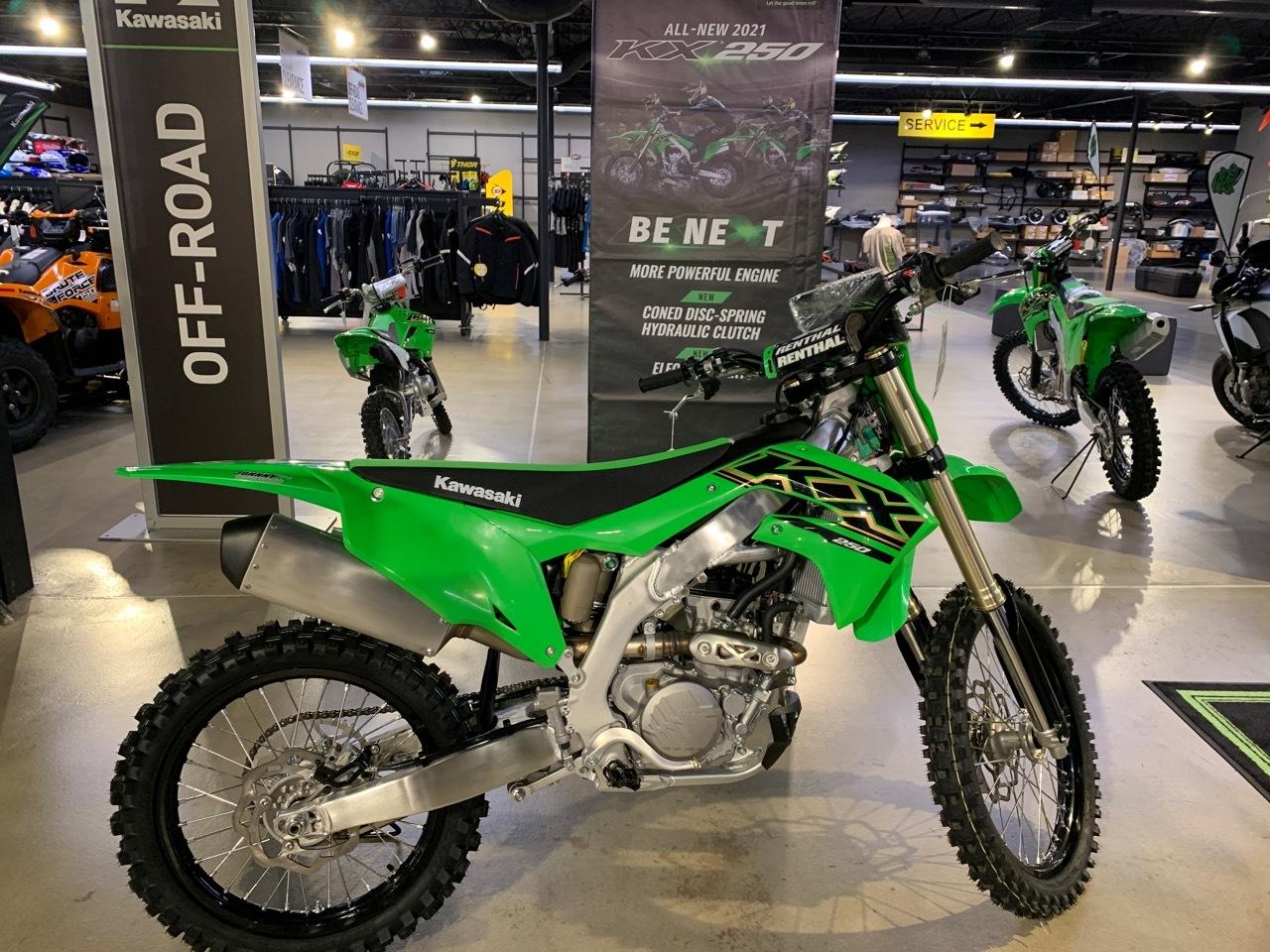 Photo 2021 Kawasaki KX 250 $8299