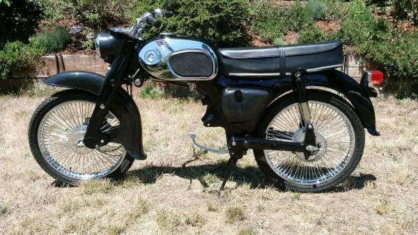 Photo 1964 Honda C200 CA200 90cc Baby Dream - $1,200 (Eugene)