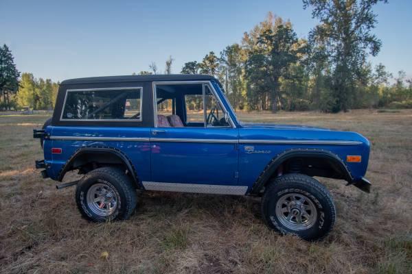 Photo 1972 Ford Bronco Sport - $32,000 (Eugene)