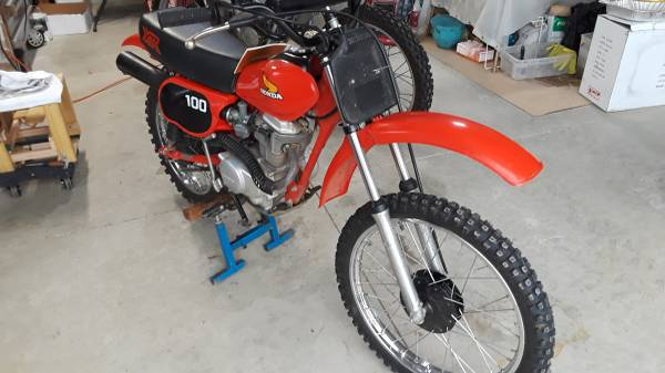 Photo 1981 Honda XR100 - $2,500 (Roseburg-Green)