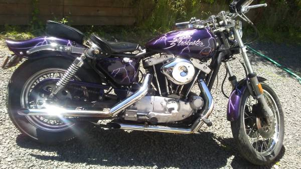 Photo 1982 Harley Davidson Sportster Ironhead - $3400 (Scappoose, Oregon)