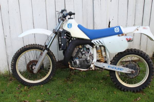 Photo 1986 Husqvarna 430 Auto, Vintage Dirt Bike - $1900 (Elmira)