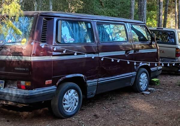 Photo 1990 VW Vanagon Carat - $5,555 (Eugene, OR)