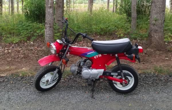Photo 1992 Honda CT-70 Mini Trail. CT70. - $2500 (Eugene area.)