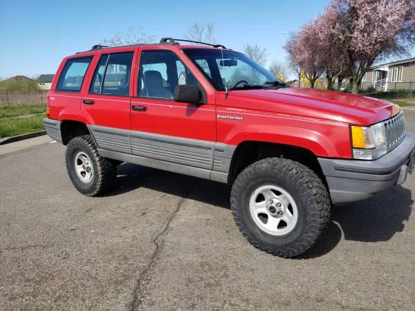 Photo 1993 Jeep grand Cherokee - $2900 (Eugene)