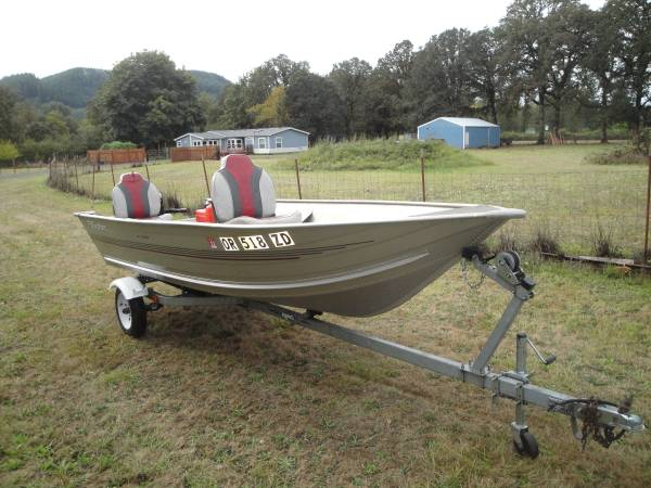 Photo 1999 Fisher 14quot Aluminum Boat - $2,995 (Marcola)