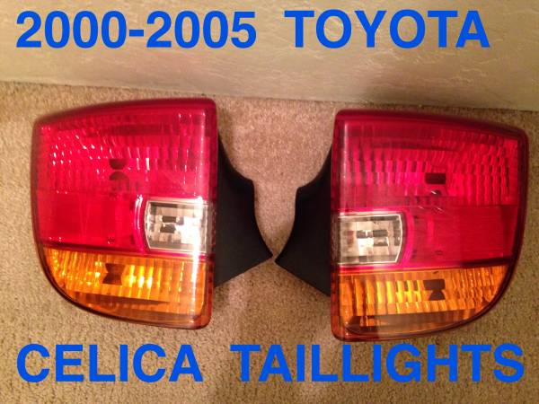 Photo 2000-2005 TOYOTA CELICA TAIL LIGHTS - $40 (Springfield)