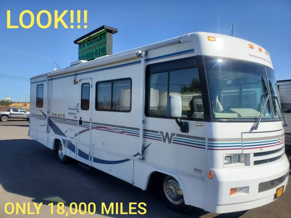 Photo 2000 Winnebago Brave 29A ... only 19,000 miles (Eugene)