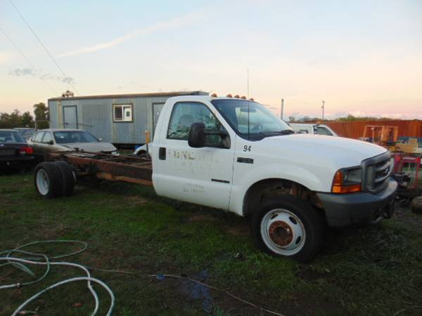 Photo 2001 FORD F550 7.3 Powerstroke Diesel long frame - $6,700 (EUGENE)