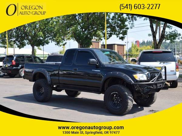Photo 2001 Toyota Tacoma Xtracab Pickup 4x4 4WD Truck TRD OFF ROAD LIFTED - $10,999 (541-603-CARS(2277) - 1300 Main St Springfield, OR 97477)