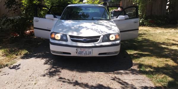 Photo 2002 Chevy Impala LS - $2,500 (Creswell)