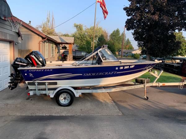 Photo 2004 Smokercraft Osprey DLX 17 - $17,500 (Eugene)