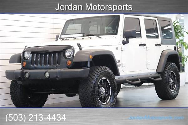Photo 2009 JEEP WRANGLER UNLIMITED X LIFTED 35S 89K MLS 2010 2011 2012 2008 - $16997 (Jordan Motorsports)