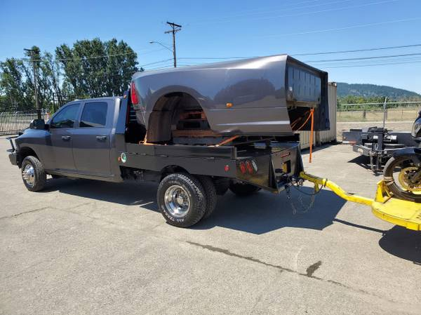 Photo 2013-2018 DRW Dodge Ram Dually 839 pickup bed, bumper complete takeoff - $1,800 (Eugene)