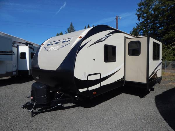 Photo 2016 EVO 220RBS 25ft 1 SLIDE Great Layout BEAUTIFUL - $18475 (Creswell, OR Oregon West RV 541-895-3599)