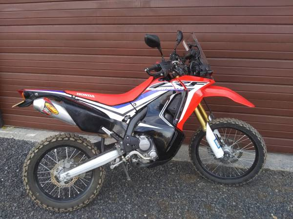 Photo 2017 CRF 250L Rally - $4,250 (bend)
