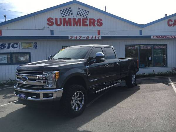 Photo 2017 FORD F350 CREW CAB L. BED 4WD 6.7 POWER STROKE DIESEL - $54900 (Eugene)