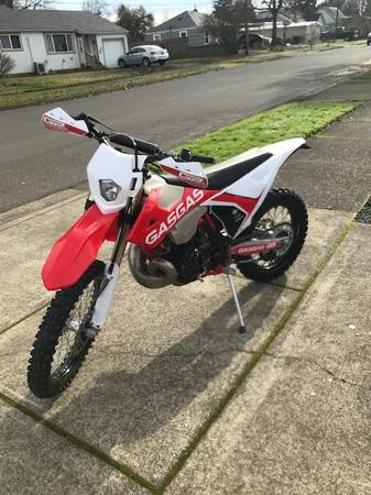 Photo 2018 Gas Gas 300 Two Stroke Dirt Bike - $7,200 (Springfield)