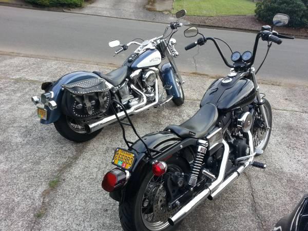 Photo 2-4-1 Harley Deal 1996 Heritage 1999 FXDX Trade for StreetRoad Glide or $7500ea - $7,500 (Eugene)