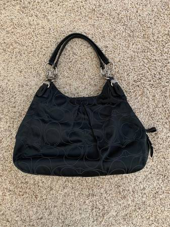 Photo Black COACH shoulder bagNEW - $60 (Eugene)